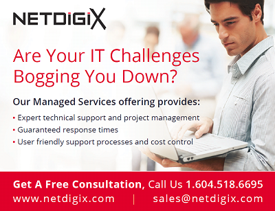 managed IT services netdigix