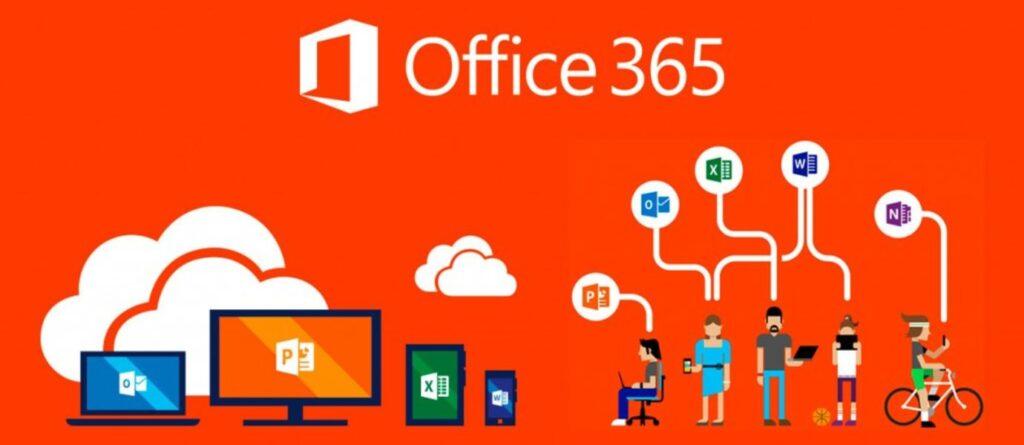 Microsoft Office 365 cloud based productivity suite.