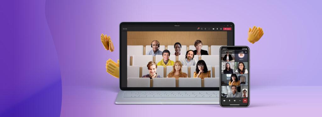 Host live webinars on Microsoft Teams.